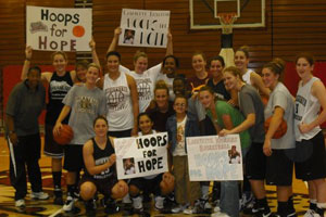Lafayette Womens Basketball Lafayette Basketball Hoops for Hope