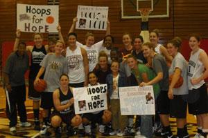 Lafayette Womens Basketball.JPG Lafayette Basketball Hoops for Hope