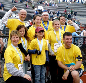 Tracey Run for a Cure.JPG Run for a Cure